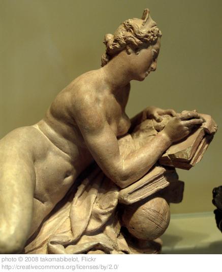 StatueWomanWriting